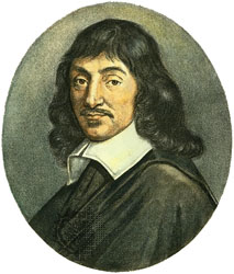 rene descartes on the existence of the material world Since descartes will use the existence  descartes finally tried to eliminate the dream problem by proving that there is a material world and that bodies do really.